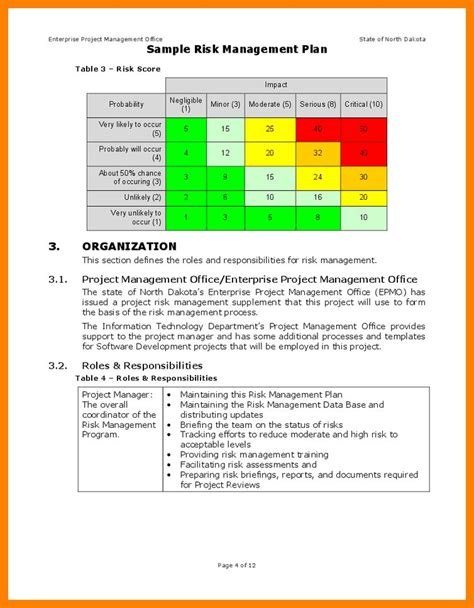Risk And Mitigation Plan Template by Risk And Mitigation Template The Smart Risk Mitigation