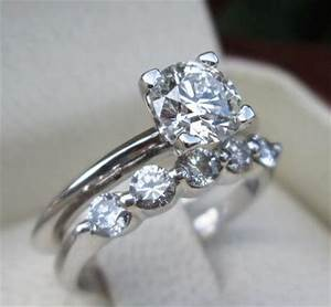 tiffany co gia vvs1 certified diamond engagement ring With tiffany wedding ring set