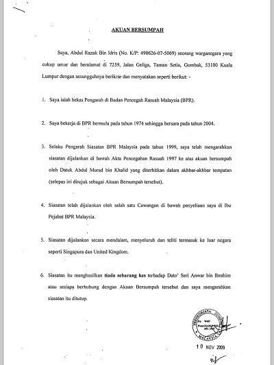 surat rasmi pengesahan pendapatan rasmi