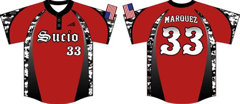 sucio custom camo baseball jerseys custom baseball