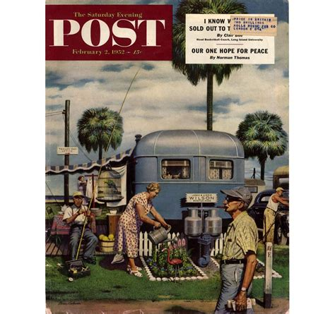 lpost or l post stevan dohanos selected covers for saturday evening post
