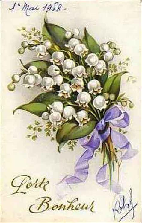 Cartes postales anciennes pour le 1er mai - Fête du ...