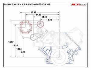 Ls1 Camaro  C Air Conditioner Compressor