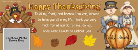 happy thanksgiving giving thanks family friends cover happy thanksgiving giving thanks