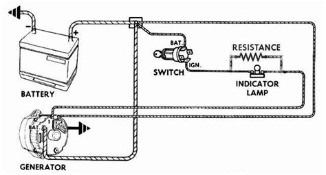 3 Wire Alternator Wiring Diagram 62 Impala by 62 Generator Converted To Externally Regulated Alternator
