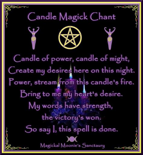 light magic spells candle magic chant stuff to remember