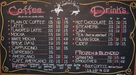 Että esim somejuttu olis kivasti tehty tauluksi seinälle. very nice chalk menu | Coffee shop menu, Coffee shop menu board, Coffee menu