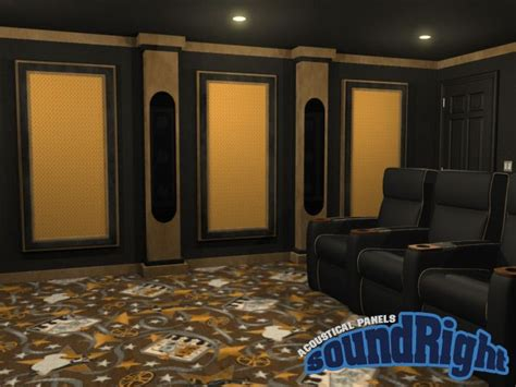 acoustic panels for home theater home theater
