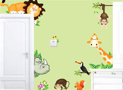 Wandtattoo Kinderzimmer Löwe wandtattoo eule kinderzimmer wandtattoo landschaft mit