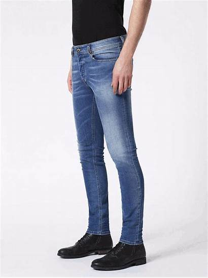 Jeans Diesel Denim Skinny Slim Sleenker Guide