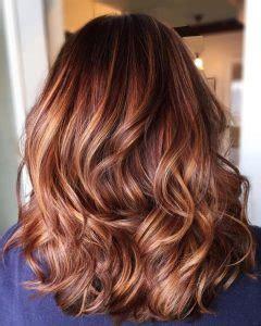 balayage caramel sur base brune balayage caramel blond sur cheveux chatain