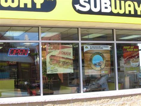 cuisine subway subway restaurant antigonish 46 st restaurant