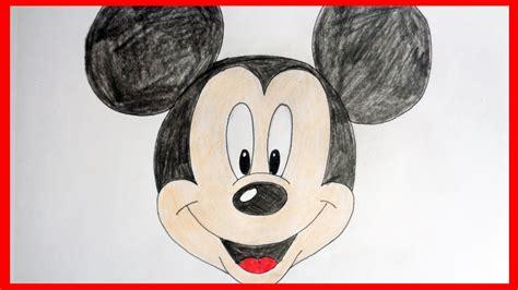 draw mickey mouse kak narisovat mikki mausa youtube