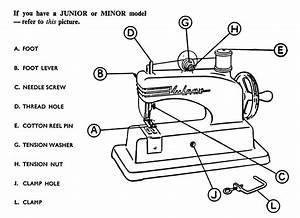 Vulcan Minor Sewing Machine