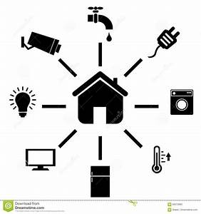 Smart Home Icon : smart home icons stock vector image 69373683 ~ Markanthonyermac.com Haus und Dekorationen
