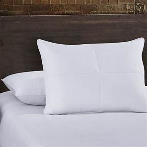 Standard queen size goose feather and white goose down for Best king size down pillows