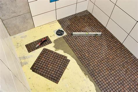 bodengleiche dusche einbauen selbstde