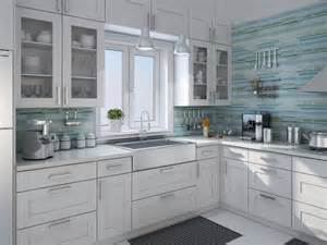 rip curl painted linear glass tile backsplash contemporary kitchen vancouver by