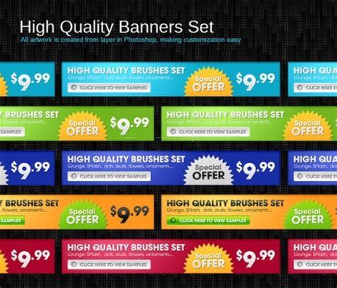 11571 professional photo backgrounds advertisement banners set 30393 web graphics