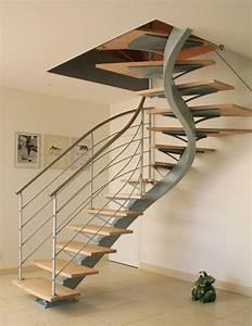 Escalier Colimaçon Beton : pingl par alexandre sarrazin sur escaliers trappa et hus ~ Melissatoandfro.com Idées de Décoration