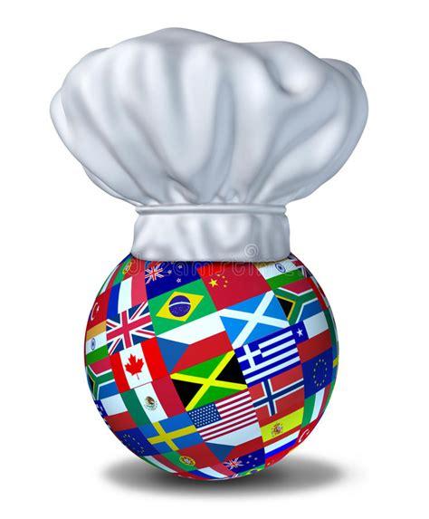 cuisine mondial cuisine internationale photographie stock image 19540442