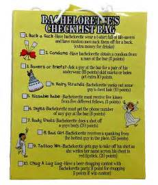 Bachelorette Party Scavenger Hunt List