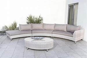 Polyrattan Lounge Set Grau : loungeset palermo 12 tlg rundlounge tisch 130x40 cm polyrattan grau online kaufen otto ~ Indierocktalk.com Haus und Dekorationen