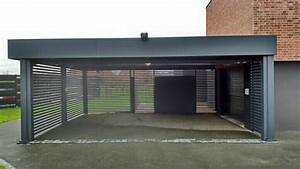 plan abri de jardin toit plat 9 garage archives carport With plan garage toit plat