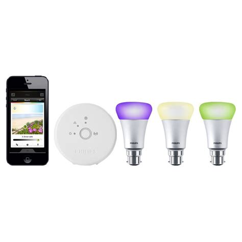 philips hue personal wireless lighting starter kit 3 x