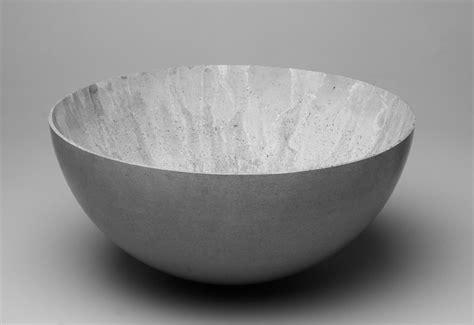 large concrete bowl designed  stephan schulz