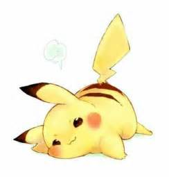Pokemon Cute Pikachu Raichu