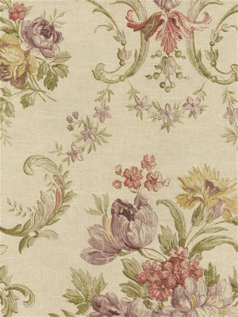 Style is what you make it, in life and at home. Floral Damask Wallpaper Design