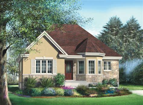 bungalow  turret nook pm architectural designs house plans