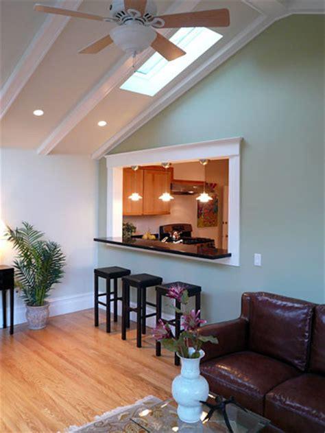 klopf architecture kitchen  skylight traditional