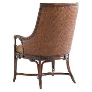 bahama landara royal palm upholstered arm chair dining chairs dining room furniture
