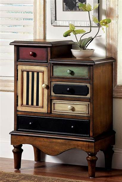 Antique Furniture Chest America Cabinet Wood Drawers