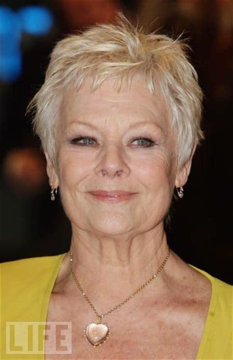 dame judi dench hairstyle hairstyles hair styles