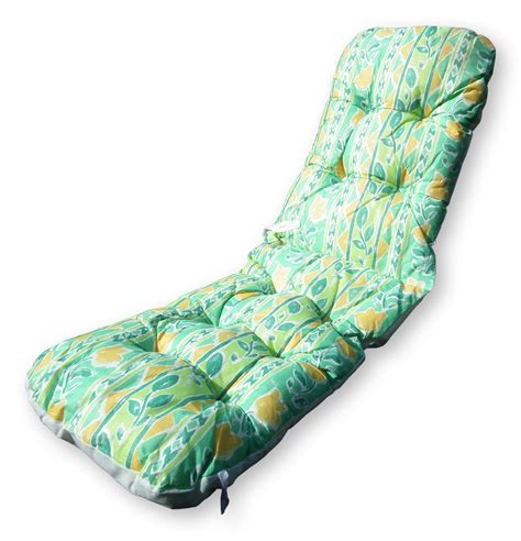 Recliner Sun Lounger Cushions replacement outdoor garden sun lounger cushion thick