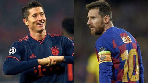 Lewandowski continued his fine form by putting four past red star on tuesday. Robert Lewandowski vs. Leo Messi w 2019 roku. Kto osiągnął ...