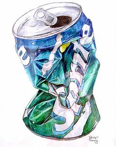 Crushed Sprite Can by pillbug on DeviantArt