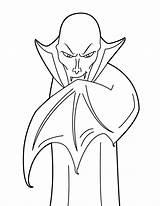 Vampire Coloring Printable Sheets sketch template