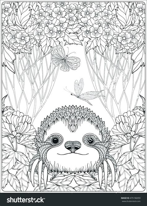 complex animal coloring pages  getcoloringscom