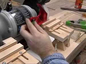 Homemade Grinder Tool Rest & Veritas Grinding Jig Review