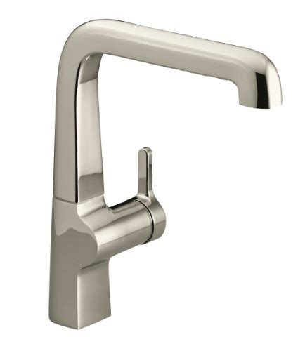 single kitchen faucet kohler k 6333 sn evoke single kitchen sink faucet