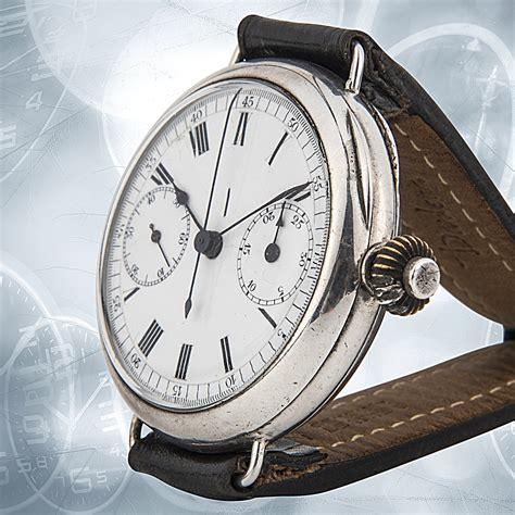 1907 Rolex Chronograph, The Earliest Known Rolex