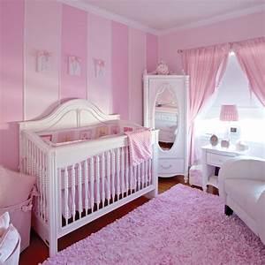 decor rose romantique pour chambre de bebe chambre With deco chambre bebe rose