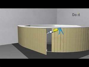 Badewanne Mit Vinyl Verkleiden : 06 runde badewanne verkleiden sd youtube ~ Indierocktalk.com Haus und Dekorationen