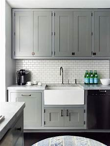 Backsplash And Countertop Ideas For Grey Shaker Cabinets