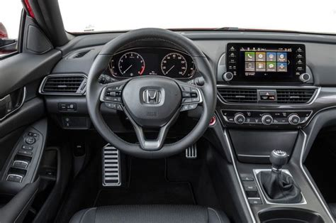 Honda Brv 2019 4k Wallpapers by 2018 Honda Accord Sport 2 0t Front Interior Detail 01