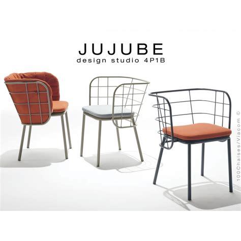 Fauteuil Plastique Exterieur Design by Fauteuil Design Pour Ext 233 Rieur Jujube Structure Acier